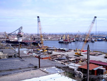 Crane & Safety supplied consultancy and training services for one our clients at this fabrication yard in the port of Baku, Azerbaijan